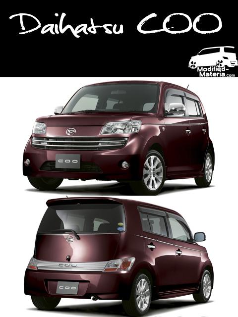 Modified Daihatsu Materia. Daihatsu COO
