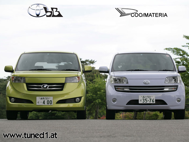 Modified Daihatsu Materia. Differents between Daihatsu